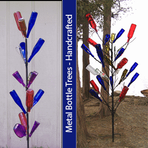 Bottle Trees from The Lazy Scroll
