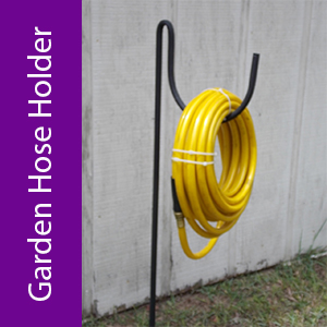 Garden Hose Holder from The Lazy Scroll