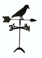 TLS1048RM Black Crow Roof Mount Weathervane