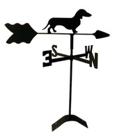 TLS1011RM Dachshund Roof Mount Weathervane