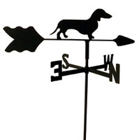 TLS1011IN Dachshund Garden Style inground Weathervane