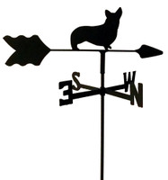 TLS1009IN Corgi Garden Style inground Weathervane
