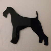 Airedale refrigerator magnet