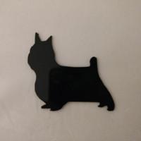 Yorkshire Terrier Refrigerator Magnet