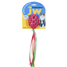 JW Pet Football & Streamers - Cat Toy