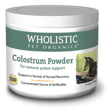 Wholistic Pet Colostrum Powder 3oz