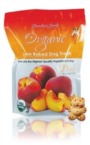 Grandma Lucy's Organic Peach Treats 14oz