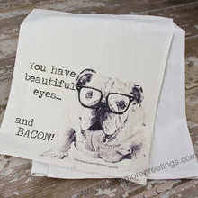Mi Bellamore: Beautiful eyes and bacon towel