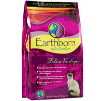 Earthborn Holistic Feline Vantage Natural Dry Cat Food