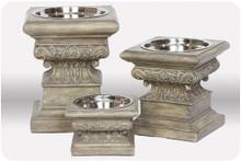 Adour Raised Dog Bowls