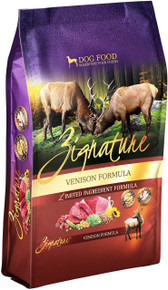 Zignature Limited Ingredient Formula Venison  Dry Dog Food