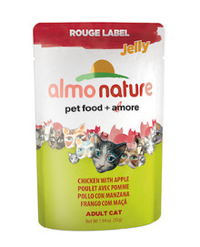 Almo Nature Chicken With Apple 1.94oz Pouch