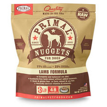 Primal Lamb Nuggets 3lb