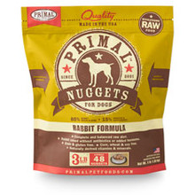 Primal Rabbit Nuggets 3lb