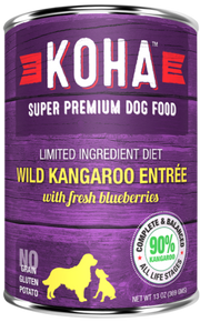 KOHA Wild Kangaroo Dog Food 13oz