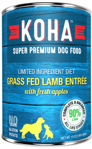 KOHA Lamb Dog Food 13oz