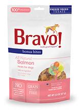 Bravo Salmon Freeze Dried Treats 2oz