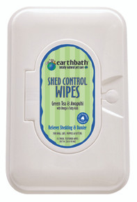 Earthbath Shed Control Wipes