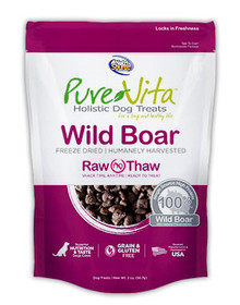 Pure Vita Wild Boar Treats 2oz