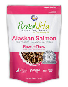 Pure Vita Alaskan Salmon Treats 2.4oz
