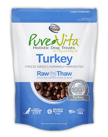 Pure Vita Turkey Treats 2.2oz