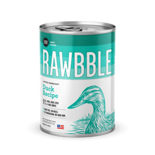 Rawbble Duck Can Dog Food 12.5oz