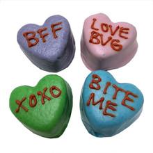 Candy Heart Cake Bites