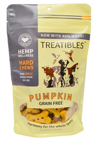 Full Size - Large Pumpkin Hard Chews (45 ct) - Canine