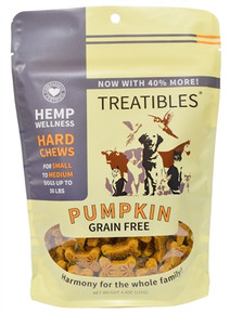 Full Size - Small Pumpkin Hard Chews (75ct) - Canine