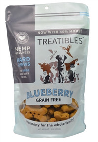 Full Size - Large Blueberry Hard Chews (45 ct) - Canine