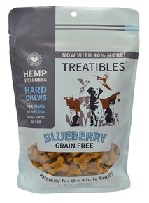 Full Size - Small Blueberry Hard Chews (75ct) - Canine