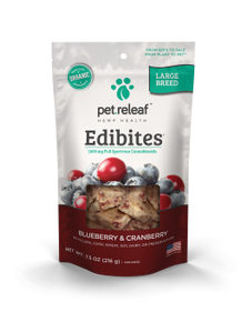 Pet Releaf Edibites Blueberry Cranberry CBD