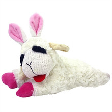 LAMB CHOP BUNNY TOY FOR DOGS 10 INCHES