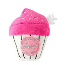Pink Cupcake Dog Toy by FuzzYard