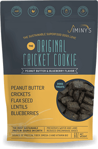 JIMINYS PEANUT BUTTER & BLUEBERRY RECIPE (5 OZ) DOG TREATS
