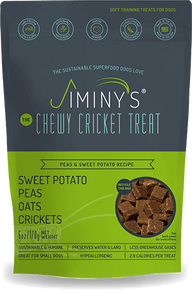 JIMINYS PEAS & SWEET POTATO RECIPE (6 OZ) SOFT & CHEWY, TRAINING TREATS