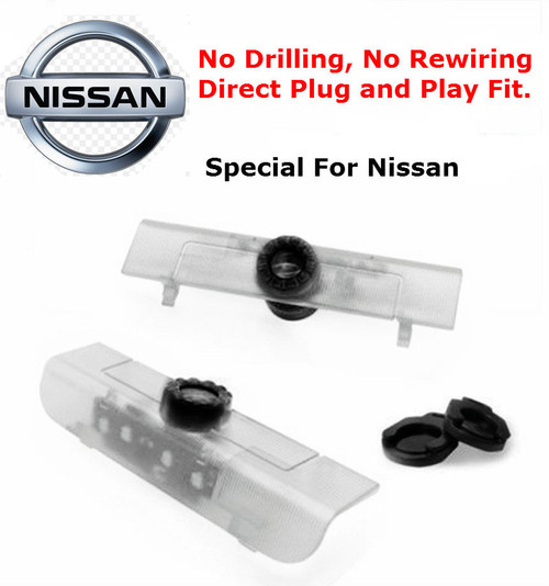LED Car Welcome Projector Courtesy Light For Nissan (No Drilling)