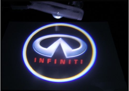 LED Car Welcome Projector Courtesy Light For Infiniti (No Drilling)