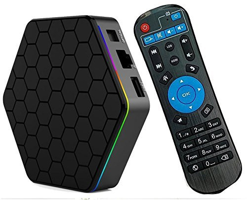TronicsCity Genuine T95Z Plus Android 6.0 4K TV Media Player 2GB RAM & 16GB Storage 2.4G/5G Dual Band WIFI Gigabit LAN, LED Display.