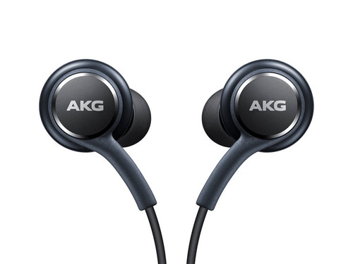 Genuine Samsung Earphones Tuned by AKG - Gray  Galaxy S8 + S7 Note 8 Heaphone