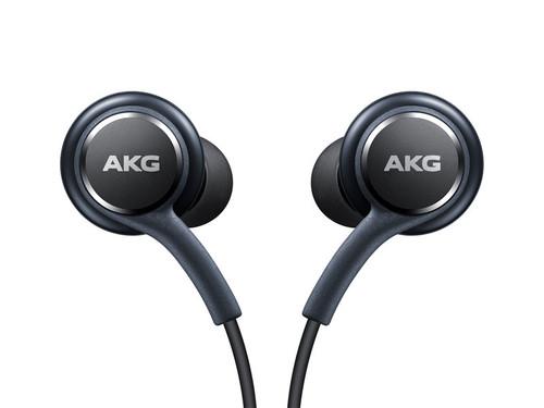 Genuine Samsung Earphones Tuned by AKG - Gray  Galaxy S8 + S7 Note 8 Heaphone