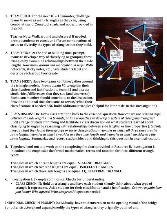 Triangles Lesson Module