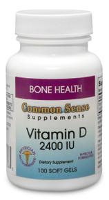 Vitamin D3 2,400 IU*