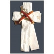 Jerusalem Stone Comfort Cross
