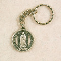 Our Lady of Guadalupe Key Ring Pewter in Gift Box