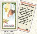 Communion Prayer - Girl cgb9-186e