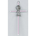 Pink Girl Cross 6""