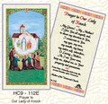 Prayer to Our Lady of Knock