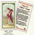 Prayer for Religious Vocations