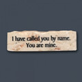 Jerusalem Stone I have called you by name... Promise Stone